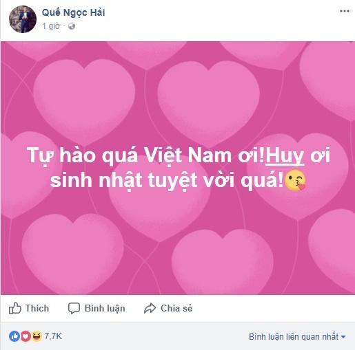Cong Vinh, Thanh Trung tu hao voi chien cong cua U23 Viet Nam hinh anh 6