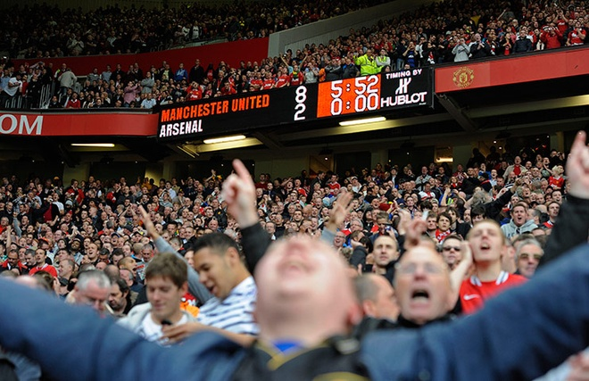 10 noi that vong lon nhat su nghiep cam quan cua Arsene Wenger hinh anh
