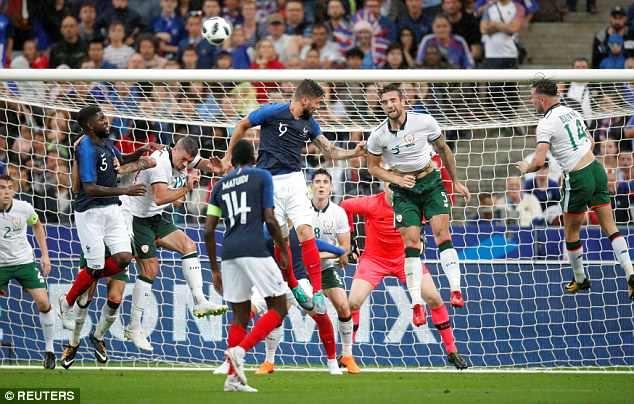 Giroud ghi ban, DT Phap thang 2-0 truoc khi du World Cup hinh anh 8