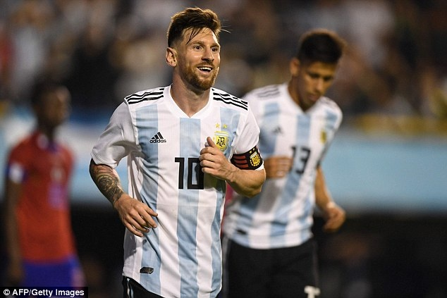 Messi ghi hat-trick, DT Argentina thang tran 4-0 truoc World Cup hinh anh 3