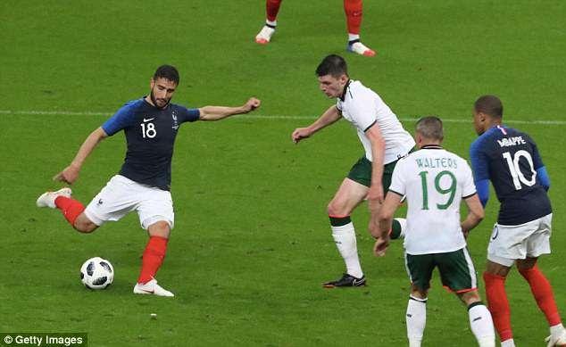 Giroud ghi ban, DT Phap thang 2-0 truoc khi du World Cup hinh anh 2