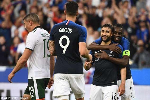 Giroud ghi ban, DT Phap thang 2-0 truoc khi du World Cup hinh anh 3