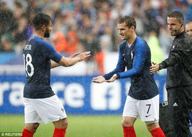 Giroud ghi ban, DT Phap thang 2-0 truoc khi du World Cup hinh anh 5