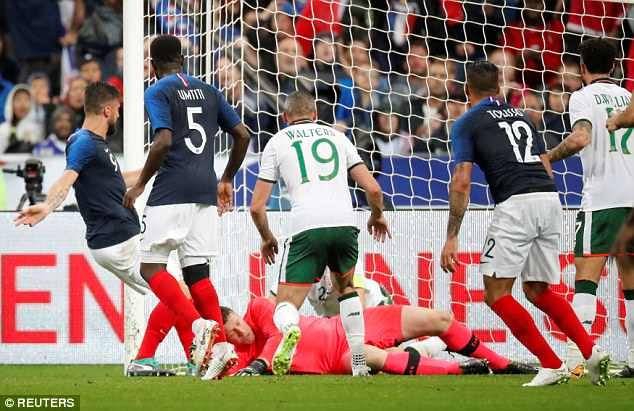 Giroud ghi ban, DT Phap thang 2-0 truoc khi du World Cup hinh anh 6