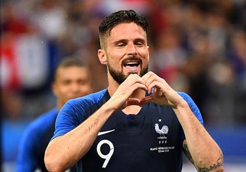 Giroud ghi ban, DT Phap thang 2-0 truoc khi du World Cup hinh anh