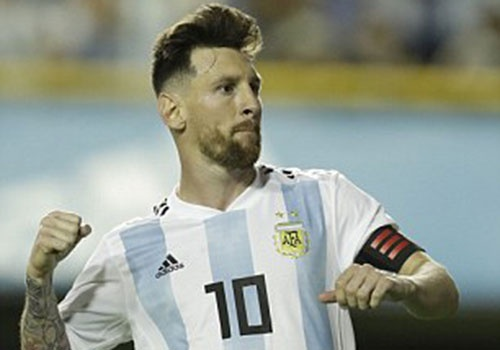 Messi ghi hat-trick, DT Argentina thang tran 4-0 truoc World Cup hinh anh