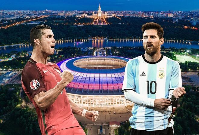 Ronaldo, Messi se the hien tai nang o san nao tai World Cup? hinh anh
