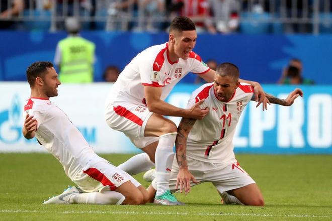 DT Serbia thang Costa Rica nho pha ghi ban dep mat cua Kolarov hinh anh