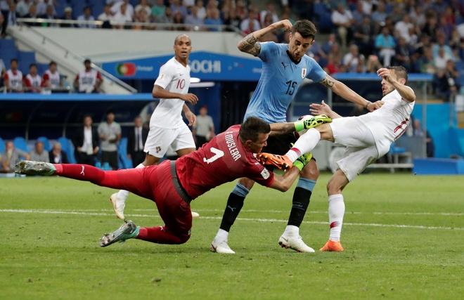 Cham diem Uruguay 2-1 Bo Dao Nha: Tuyet dinh Cavani hinh anh 8