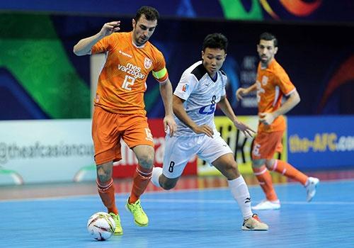 Thua 2-4, CLB Thai Son Nam gianh vi tri a quan giai futsal CLB chau A hinh anh