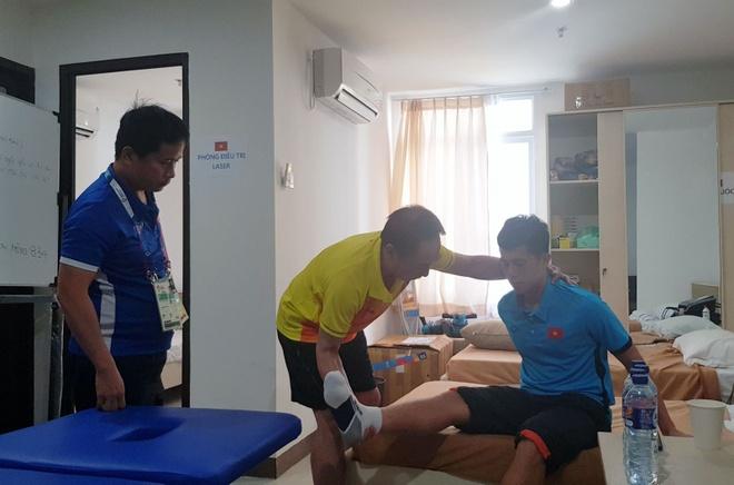 Dinh Trong co the kip phuc hoi khi Olympic Viet Nam da tu ket hinh anh 1