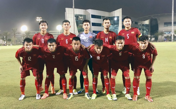 U19 Viet Nam chuan bi doi dau U19 Trung Quoc hinh anh