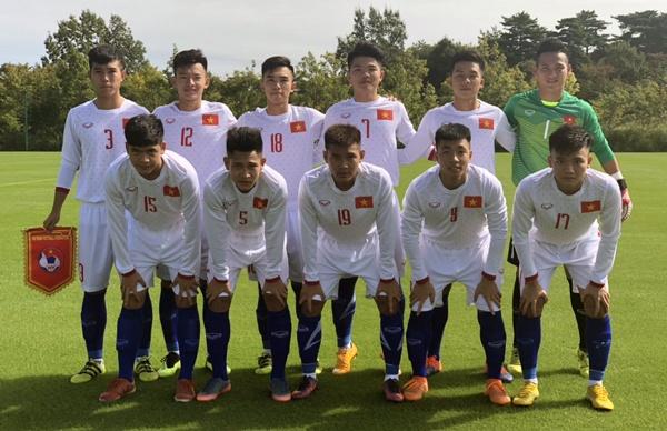U17 Viet Nam nhan that bai truoc U17 Myanmar hinh anh