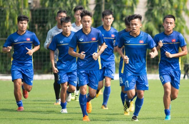 U19 Viet Nam len duong sang Indonesia du giai U19 chau A hinh anh