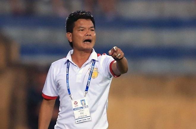 Thuyen truong Nam Dinh danh gia cao Ha Noi B vi co HLV Minh Duc hinh anh