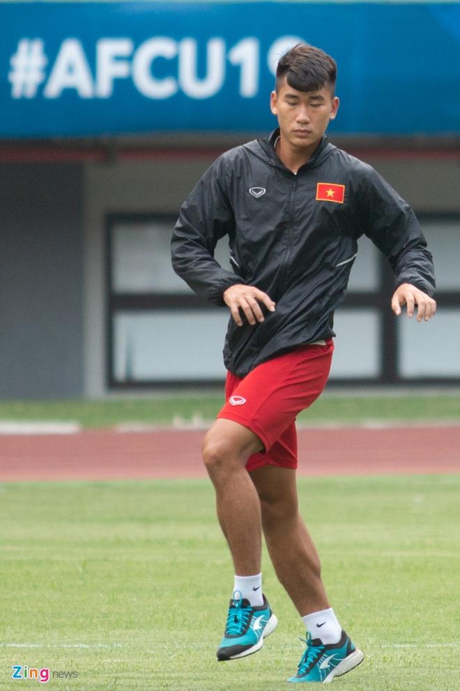 U19 Viet Nam tap buoi cuoi tai san thi dau trong tam trang hung khoi hinh anh 4