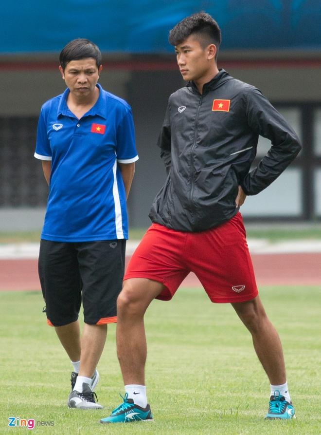 U19 Viet Nam tap buoi cuoi tai san thi dau trong tam trang hung khoi hinh anh 5