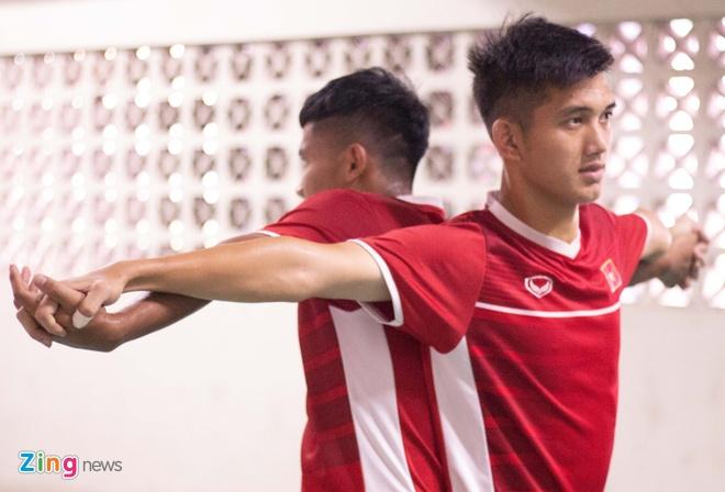 U19 Viet Nam tap buoi cuoi tai san thi dau trong tam trang hung khoi hinh anh 9