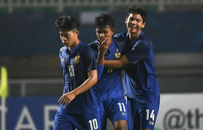 U19 Thai Lan hoa kich tinh U19 Iraq 3-3 o phut bu gio hinh anh