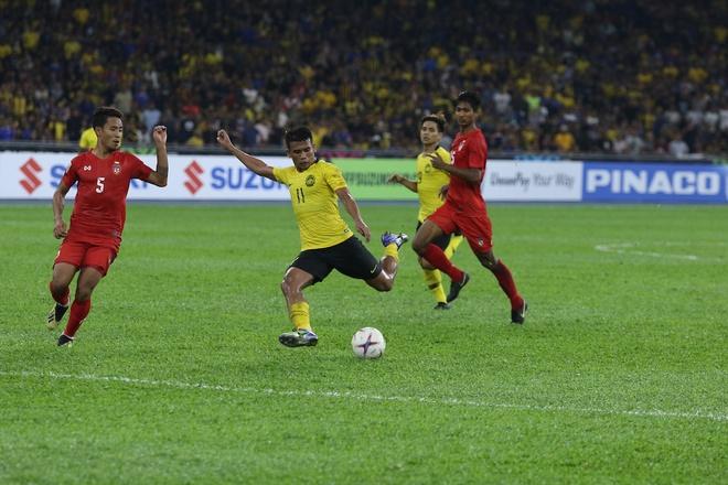 Số 11 của Malaysia sút nhiều nhất giải nhưng không thể ghi được dù chỉ 1 bàn. (Ảnh: Internet)