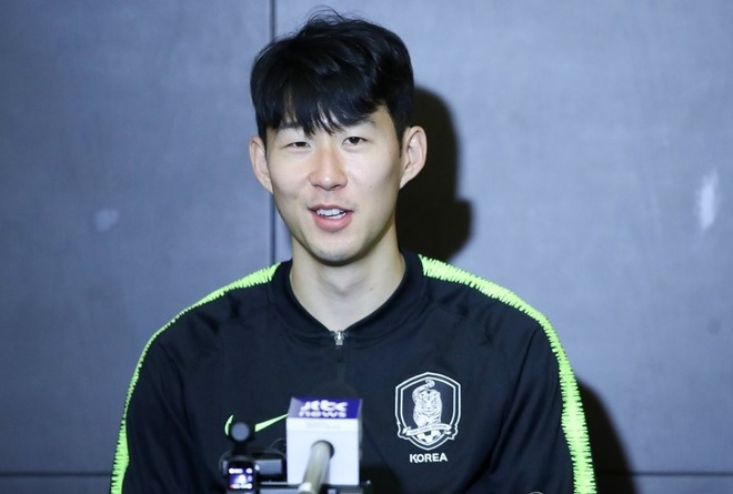 Son Heung-min: 'Toi noi voi dong doi o Tottenham la se mang cup ve' hinh anh