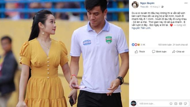 Tien Linh duoc ban gai an ui sau khi bi thay Park loai hinh anh 2