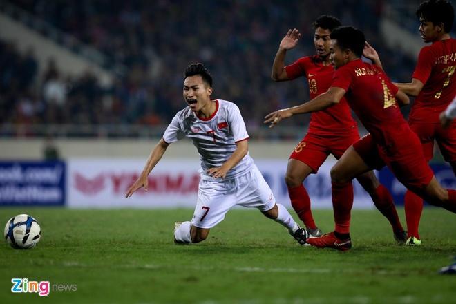 U23 Viet Nam thap thom cho cac bang khi thi dau lech mui gio hinh anh 1