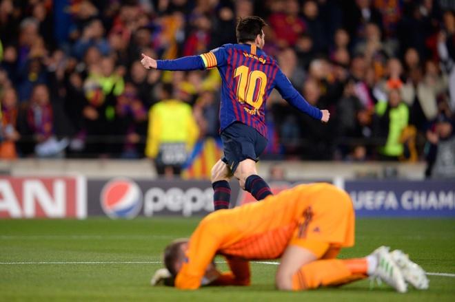 Messi thua nhan gap may trong tinh huong De Gea sai lam ngo ngan hinh anh 1