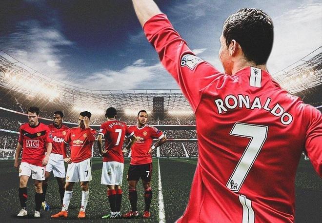 Cái dớp áo số 7 ám ảnh MU từ khi Ronaldo ra đi