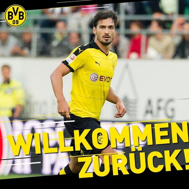 Mats Hummels chia tay Bayern Munich de tro lai khoac ao Dortmund hinh anh 1