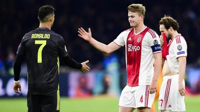 Juventus hua giup De Ligt nhan luong cao chi sau Ronaldo tai Italy hinh anh 1