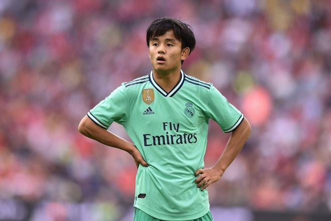 Kubo co the den Real Valladolid theo dang cho muon hinh anh 1