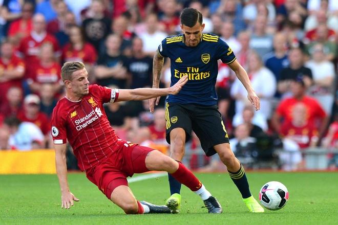 Tan binh Arsenal choang truoc suc manh cua Liverpool hinh anh 1