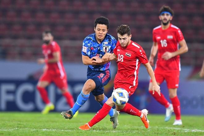 Cau thu Nhat Ban: 'Toi chi cam thay su xau ho' hinh anh 1 AFC_U_23_CHAMPIONSHIP_2020_Match_3_1_1.jpg
