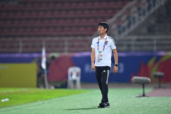 HLV U23 Nhat Ban: 'Chung toi tan cong va chap nhan mao hiem' hinh anh 1 mori2.jpg