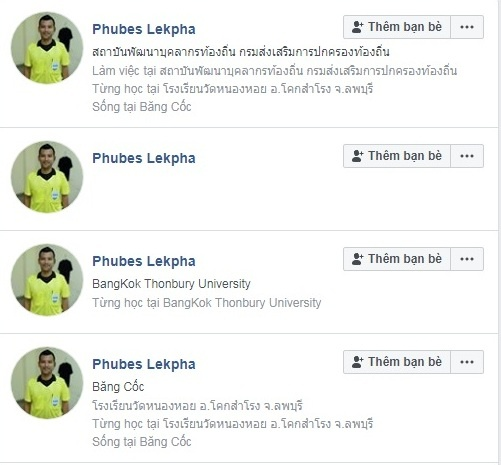 Xuat hien hang loat Facebook gia mao trong tai bien tran VN - Myanmar hinh anh 2