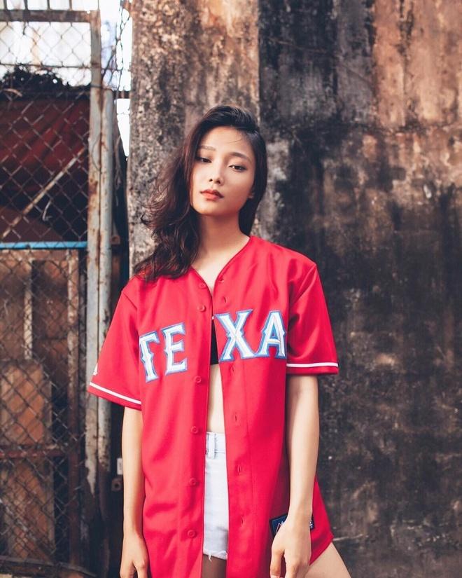 Ban gai tay vot Ly Hoang Nam la 'hot girl bong ro', cao 1,72 m hinh anh 12