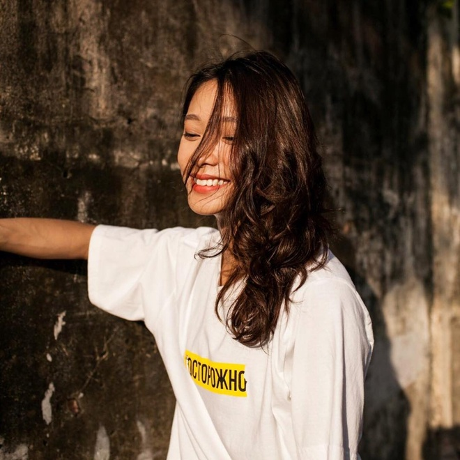 Ban gai tay vot Ly Hoang Nam la 'hot girl bong ro', cao 1,72 m hinh anh 13