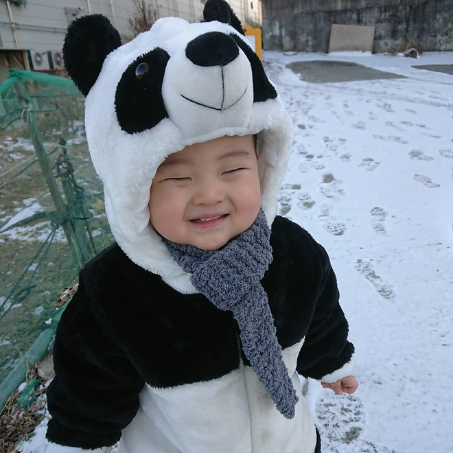 Be trai Han Quoc 2 tuoi noi tieng tren mang vi bieu cam hai huoc hinh anh 7
