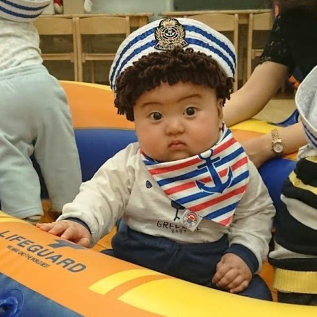 Be trai Han Quoc 2 tuoi noi tieng tren mang vi bieu cam hai huoc hinh anh 5