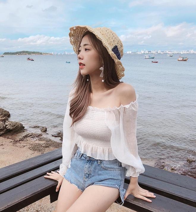 Ve goi cam cua hot girl Thai Lan hut nua trieu fan tren mang hinh anh 11