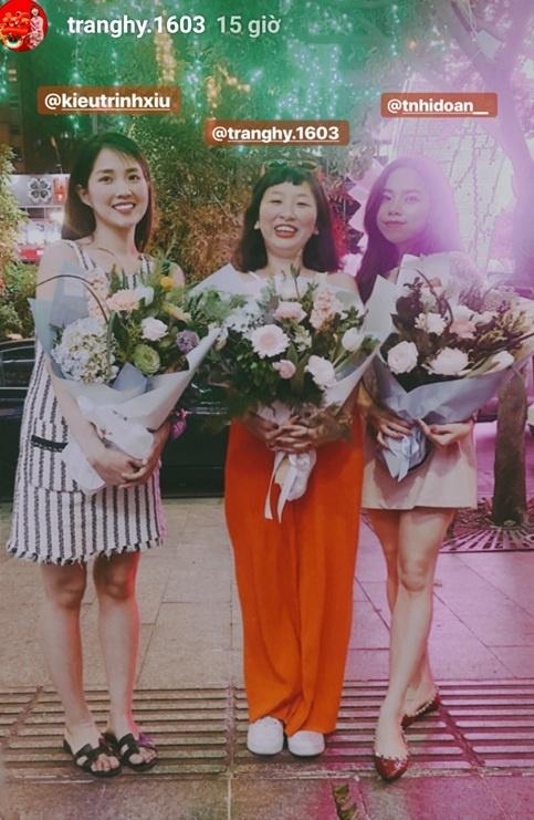Kaity, Trinh Xiu, Trang Hy 'dinh nhau nhu sam' tu Tet den Valentine hinh anh 2
