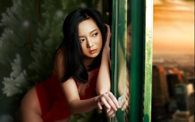 Hot girl Hai Phong 'hut follow' nho phong cach noi loan hinh anh 7