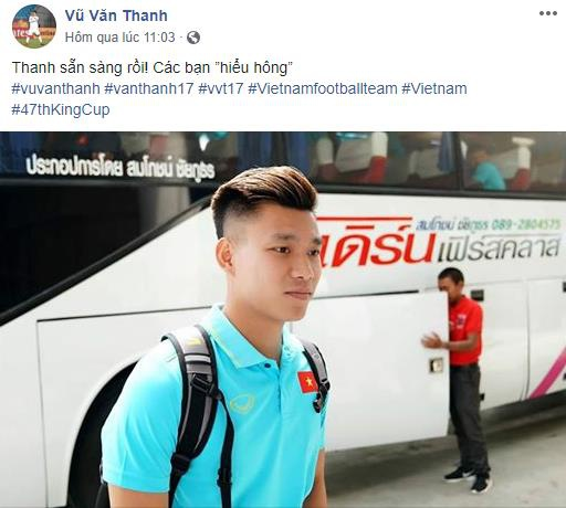 Duc Huy treu choc Xuan Truong, Van Toan truoc tran gap Thai Lan hinh anh 3