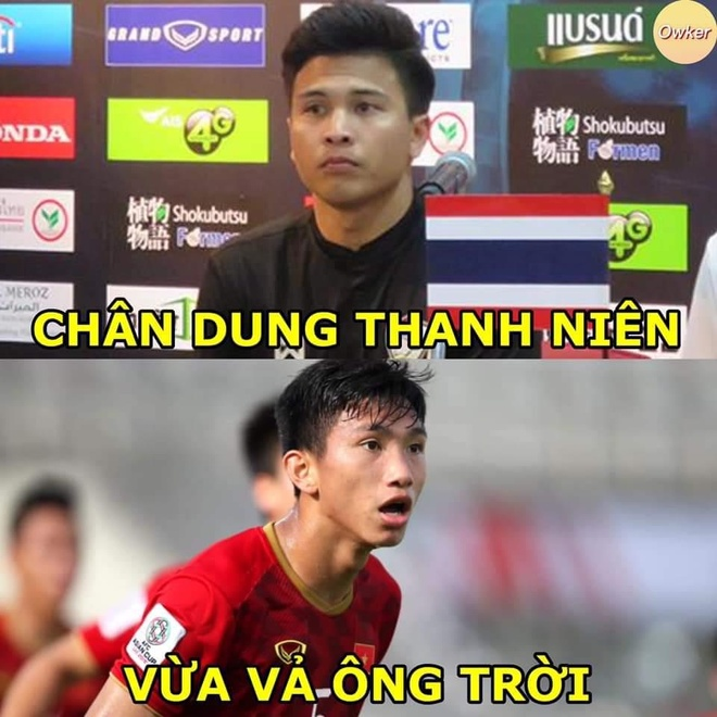 Tat vao mat Van Hau, cau thu Thai Lan nhan 'gach da' cua dan mang hinh anh 3