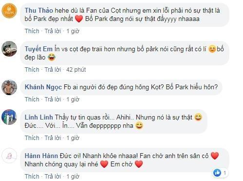 So do dep trai voi thay Park, Phan Van Duc bi fan dap 'phu phang' hinh anh 2