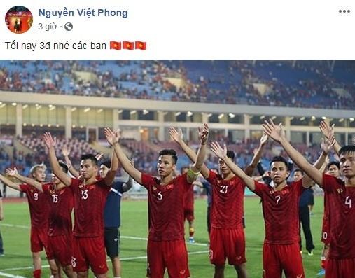 Nguoi yeu Van Hau, em gai Van Toan den san tiep lua cho tuyen Viet Nam hinh anh 5