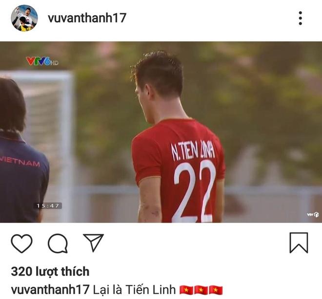 Duy Manh, Hai Que khen ngoi Tien Linh khi lap cu dup truoc Thai Lan hinh anh 2