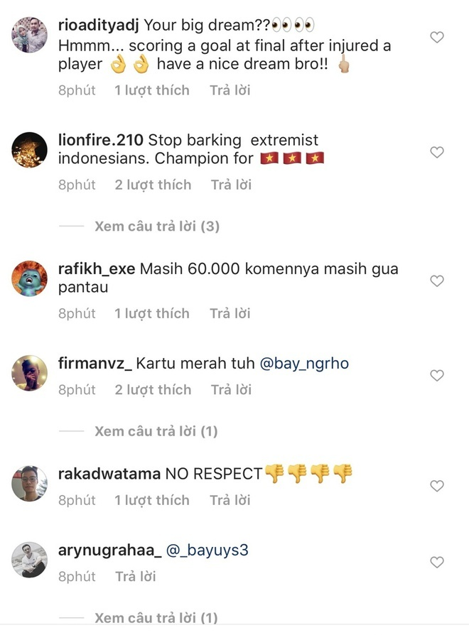 Truyen thong Indonesia ngan ngam vi CDV lam loan Instagram cua Van Hau hinh anh 2