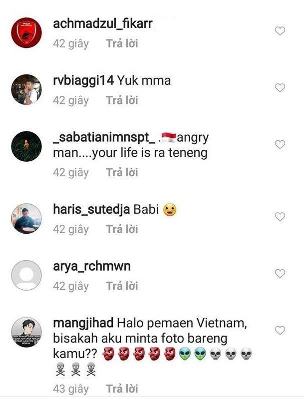 Truyen thong Indonesia ngan ngam vi CDV lam loan Instagram cua Van Hau hinh anh 3